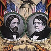 Presidential Campaign, 1856 Art Print