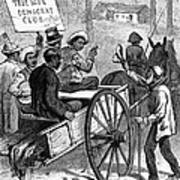 Presidential Campaign, 1876 Art Print by Granger
