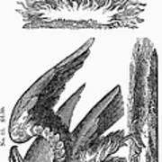 Printers Cut, 1825 Art Print