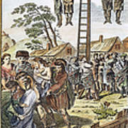 Protestant Martyrs, 1563 Print by Granger