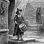 Puritan Church Drummer Art Print by Granger