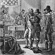 Puritan Punishment Art Print by Granger