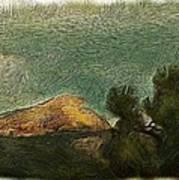 Pyramid Peak 2 Art Print