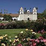 Queen Of The Spanish Missions Art Print