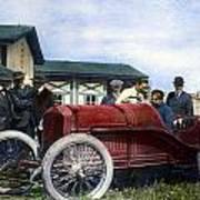 Race Car, 1914 Art Print