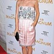 Rachel Bilson Wearing A Chanel Couture Art Print
