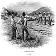 Railroad Construction Art Print