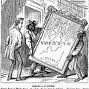 Reconstruction Cartoon Art Print