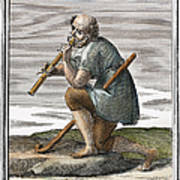 Recorder, 1723 Art Print