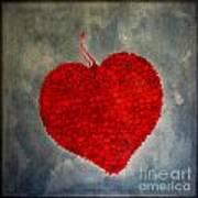 Red Heart Art Print