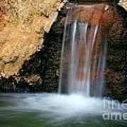 Red Waterfall Art Print
