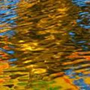 Reflection In Water. Art Print
