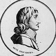 Rene Descartes, French Polymath Art Print