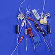 Resistors Art Print
