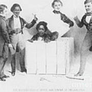 Resurrection Of Henry Box Brown Art Print by Photo Researchers