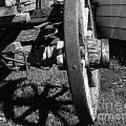 Retired Wagon Art Print