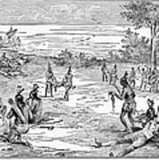 Roanoke Native American Massacre Photograph By Granger