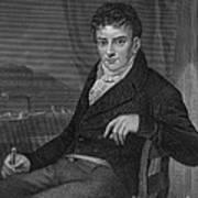 Robert Fulton, American Engineer Art Print