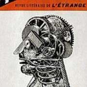 Robot Science-fiction Artwork Art Print