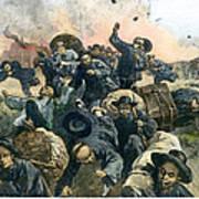 Rock Springs Massacre Art Print by Granger