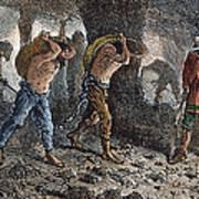Roman Slavery: Coal Mine Art Print