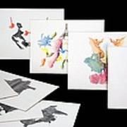 Rorshach Inkblot Test Art Print