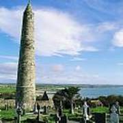 Round Tower, Ardmore, Co Waterford Art Print