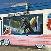 Route 66 Elvis Art Print