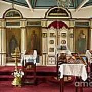 Russian Orthodox Church Art Print