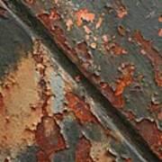 Rust II Art Print