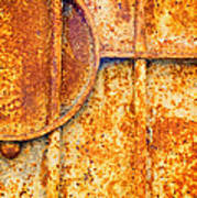 Rusty Gate Detail Art Print