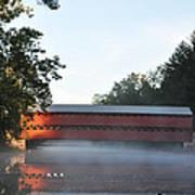 Sachs Covered Bridge  Near Gettysburg Art Print