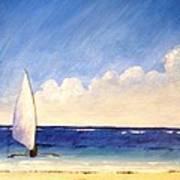 Sail On The Sea Art Print
