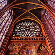Saint Chapelle Art Print