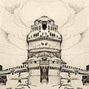 Saint Peter's Square Art Print