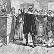 Salem Witch Trials, 1692 Art Print by Granger