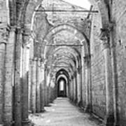 San Galgano Abbey Art Print