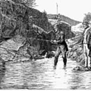 Scotland: Fishing, 1880 Art Print