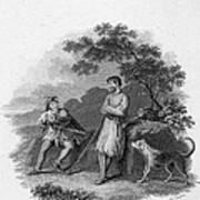 Scott: Ivanhoe, 1832 Art Print