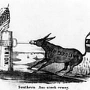 Secession Cartoon, 1861 Art Print