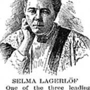 Selma Lagerlof (1858-1940) Art Print