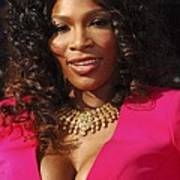 Serena Williams At Arrivals For The Art Print by Everett