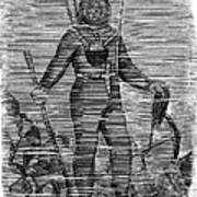 Sevastopol: Diver, 1858 Art Print