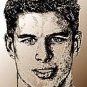 Sidney Crosby In 2007 Art Print