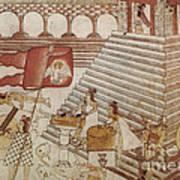 Siege Of Tenochtitlan 1521 Art Print