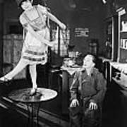 Silent Film Still: Dancing Art Print