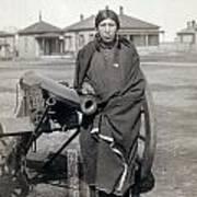 Sioux Warrior, 1891 Art Print