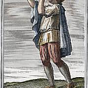 Slide Trumpet, 1723 Art Print