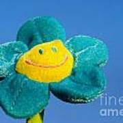Smile Flower Art Print