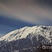 Snow-capped Alps Art Print